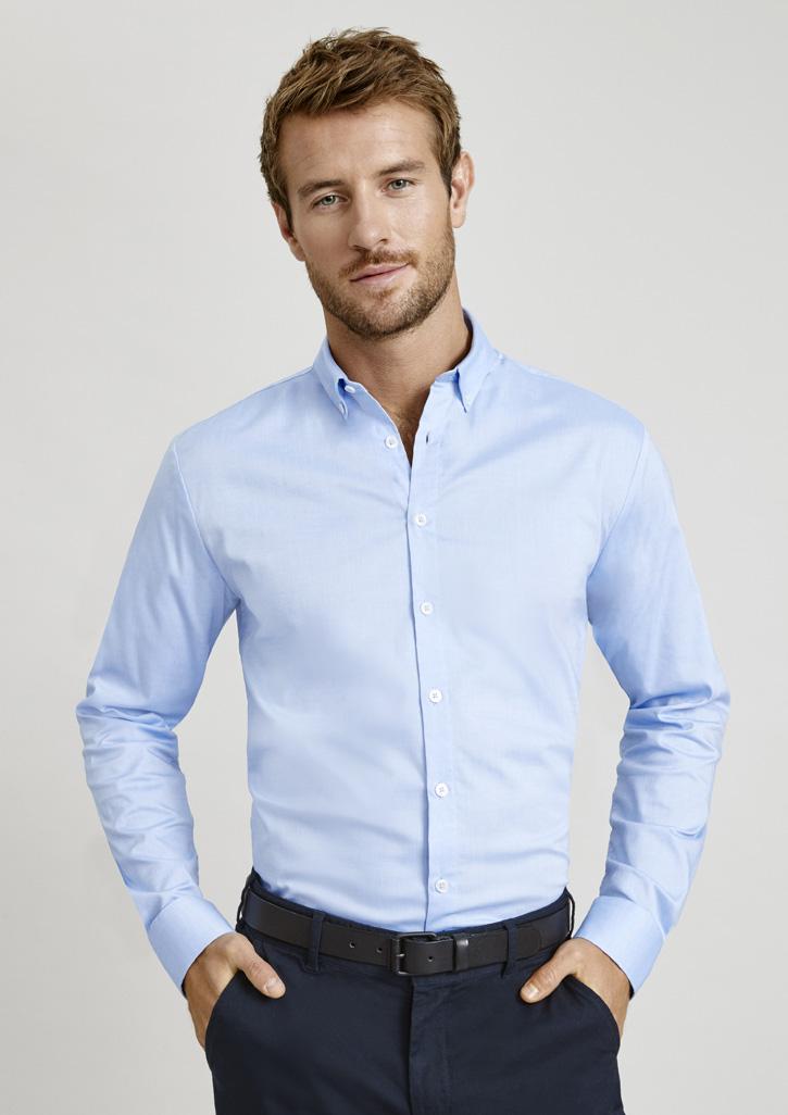 Camden Mens L/S Shirt S016ML