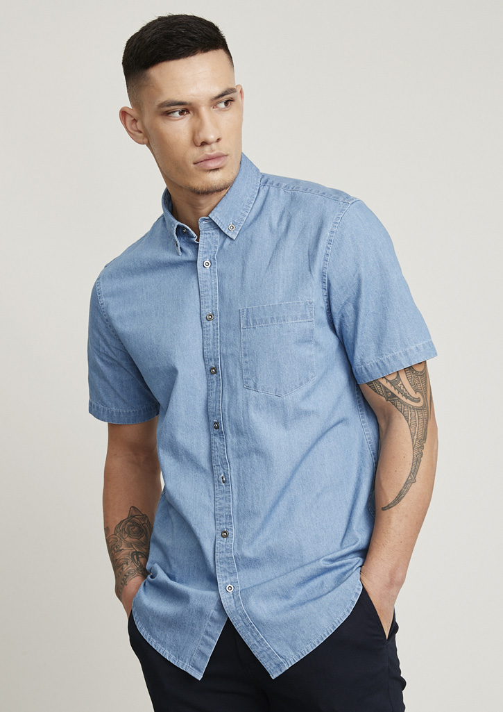 Indie Mens S/S Shirt S017MS