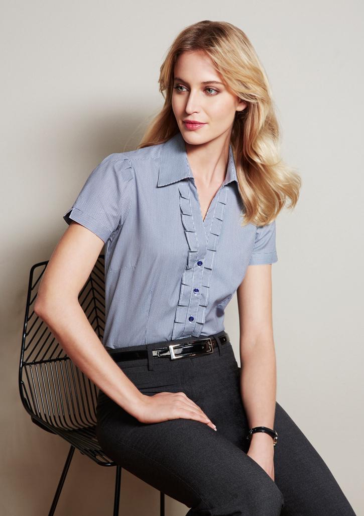 Edge Ladies S/S Shirt S267LS