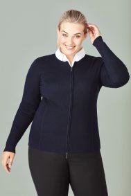 Ladies 2-Way Zip Cardigan LC3505