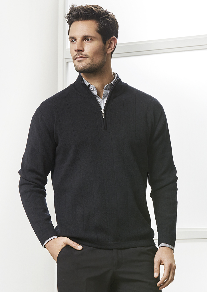 80/20 Wool-Rich Mens Pullover WP10310
