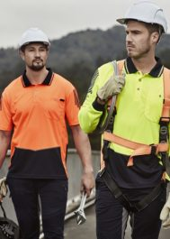 hivis safety polos/tees