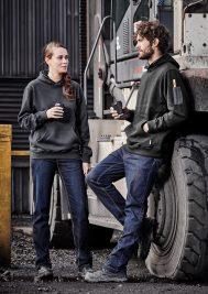 Mens Stretch Denim Work Jeans ZP507