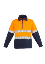 Mens Hi Vis Fleece Jumper - Hoop Taped ZT461