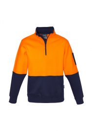 Unisex Hi Vis Half Zip Pullover ZT466